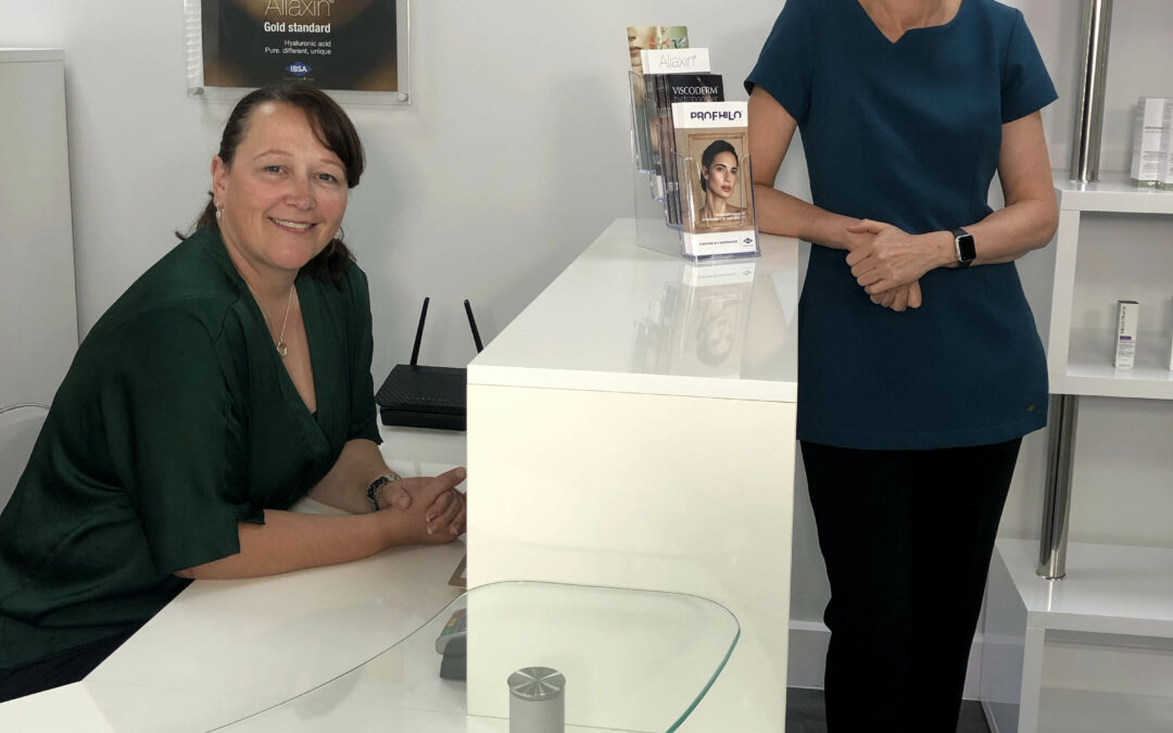 Skin Deep Clinic has Moved …. but only Next Door, so Easy to Find